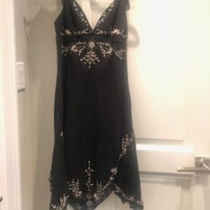 BCBG Max Azria flowy black dress